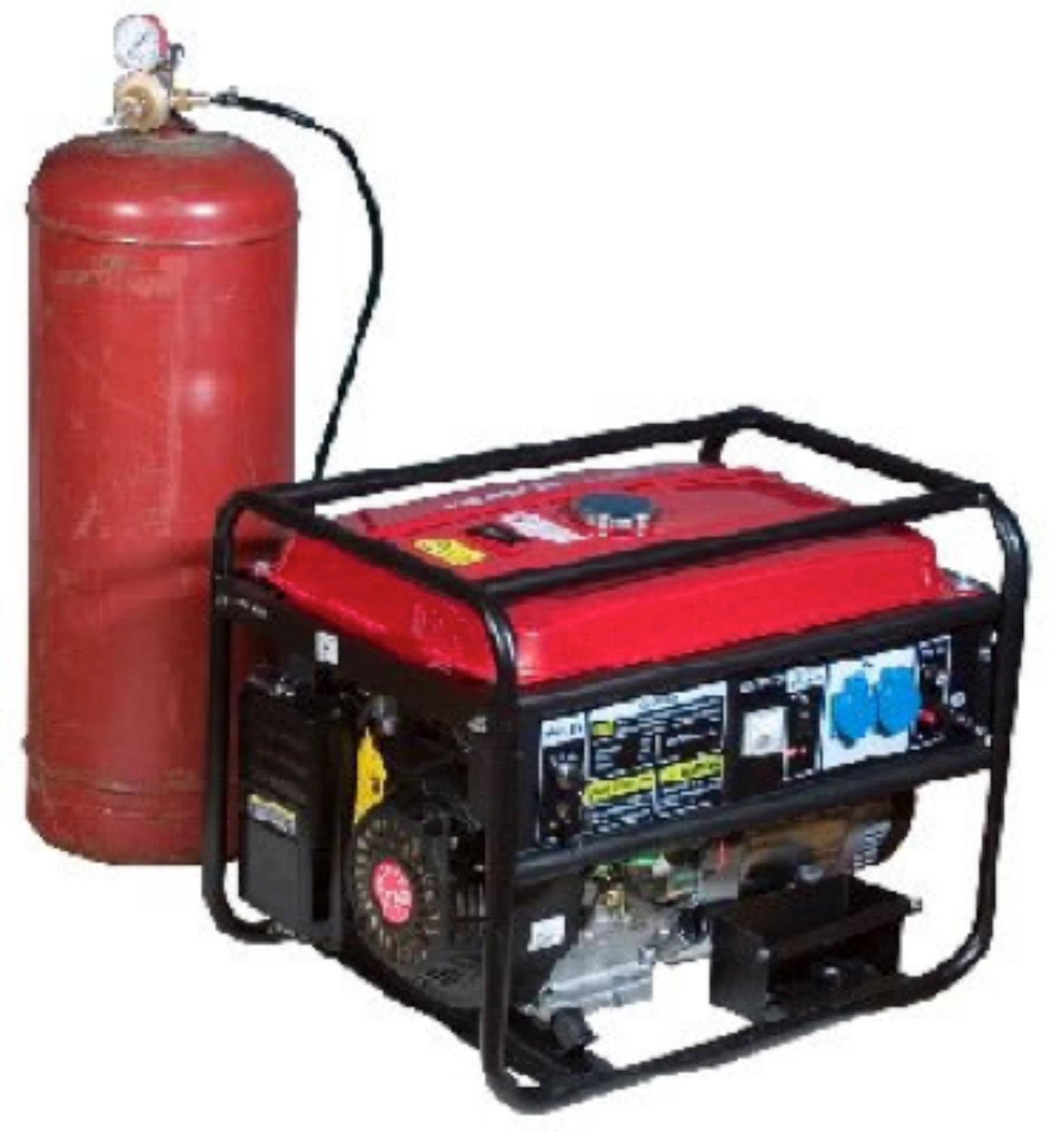 Бензиновый генератор на газу своими руками