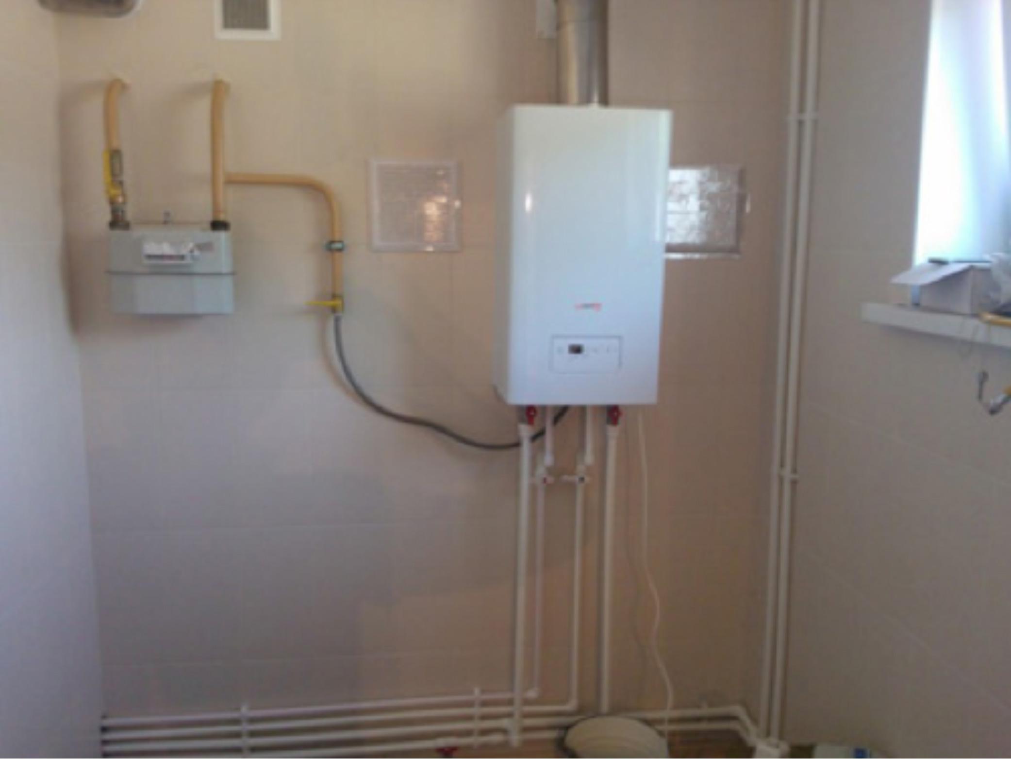 Газовое отопление квартиры своими